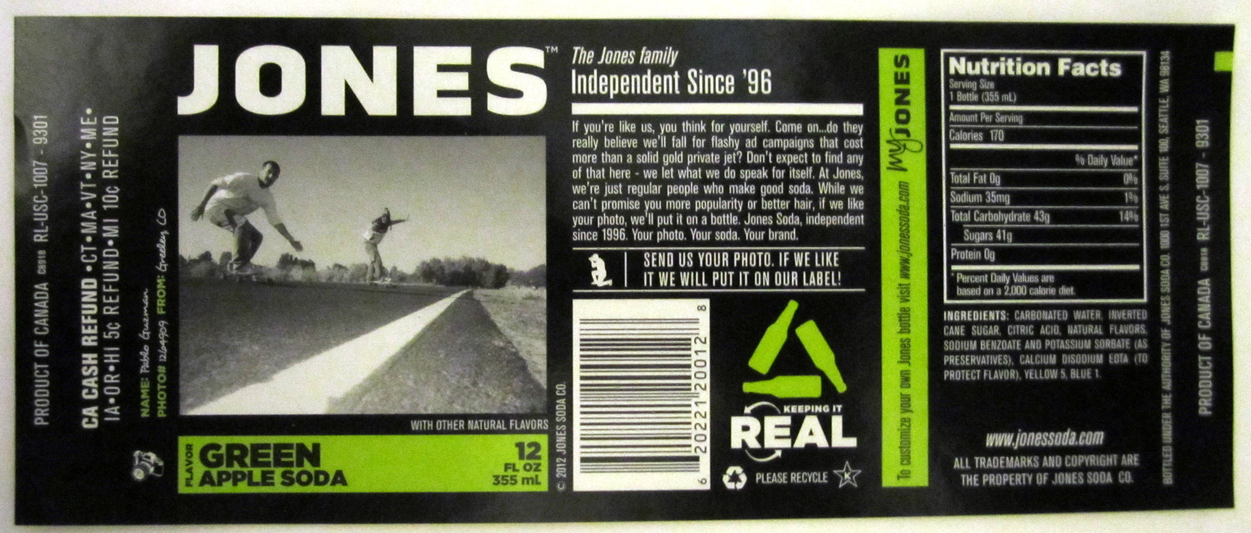 jones soda louise aird